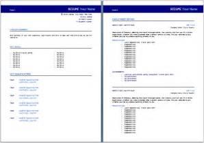 Sample Australian Resume Format – Resume Example: 55 CV Template Australia CV Format In Word