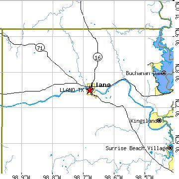 llano texas map llano texas tx population data races housing economy