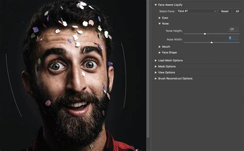photoshop cc gif tutorial adjust and exaggerate facial features adobe photoshop cc
