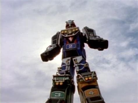 Megazord Turbo Daizyujin Turbo Base Power Ranger shadow rangers