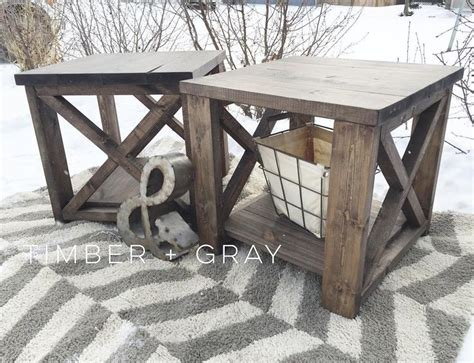 diy rustic end tables 17 best ideas about diy end tables on end