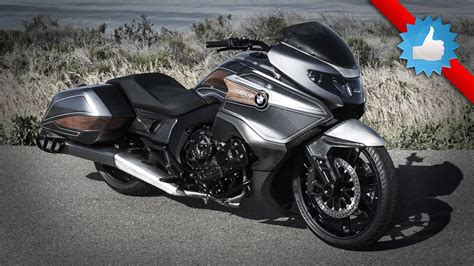 2016 bmw motorrad concept 101 bagger style