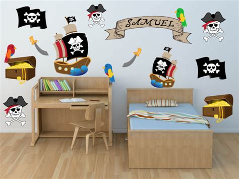 Pirate Room Decor Pirate Wall Pirate Wall Decals Pirate Room Decor