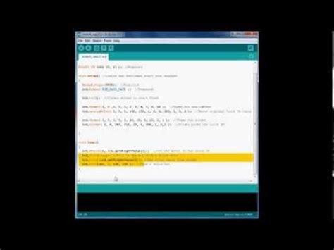 youtube color code arlcd arduino touchscreen color picker demo with code