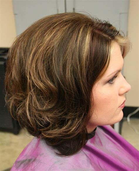 Layered Bob Hairstyles For Over 50 Front And Back View | 20 amazing hairstyles for women over 50 with thin and