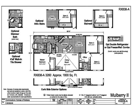 commodore homes floor plans commodore grandville mulberry michigan modular mobile