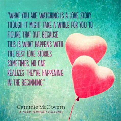 A Step Towards Falling Cammie Mcgovern a step toward falling quote 1 bookish quotes book quotes and falling quotes