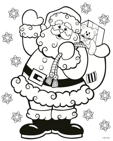 printable christmas coloring pages pinterest free printable christmas coloring pages design kids
