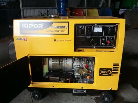 Genset Silent Kipor Kde 7000td kipor diesel generators kipor 5kva diesel silent generator