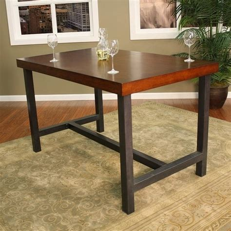 modern bar height dining table kingston counter height dining by american heritage