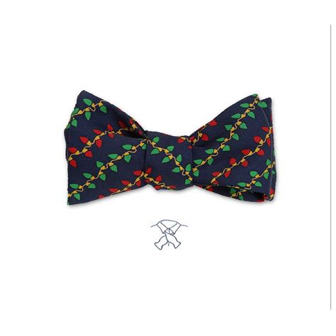 Christmas Lights Bow Tie By Josh Bach Ties With Lights