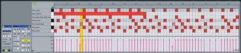 drum pattern loop making beats in ableton live using the drum rack ask audio
