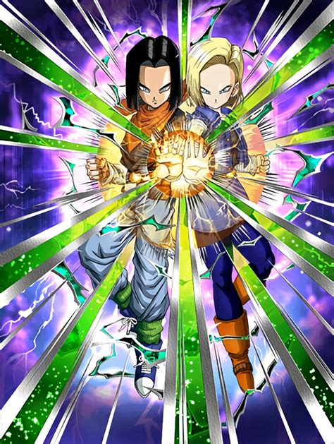 Dragon Ball Z Dokkan Battle Account Giveaway - ingenious collaboration androids 17 18 dragon ball z dokkan battle wikia