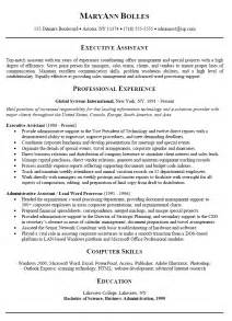 Exles Of A Summary For A Resume by How To Write A Executive Summary Resume Writing Resume Sle Writing Resume Sle