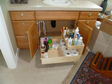 Bathroom Vanity Storage Solutions Bathroom Solutions Bathroom Cabinets And Shelves Other Metro By Shelfgenie Of Seattle
