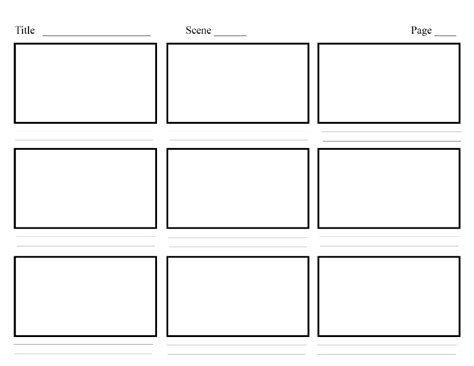 video storyboard layout storyboarding in ux design ux planet