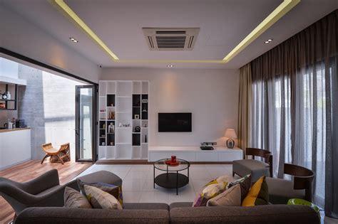 terraced house interior design contemporary denai alam home by yong design