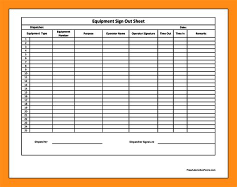 employee sign in sign out sheet template employee sign in sheets template business
