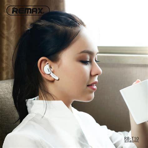 Remax Earphone Bluetooth T10 earphone remax t10 bluetooth gts amman