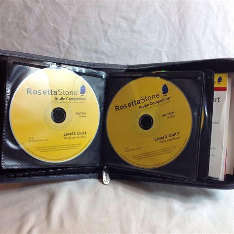 rosetta stone german cd rosetta stone german version3 language software education