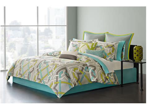 echo bedding echo design status queen comforter set at zappos com