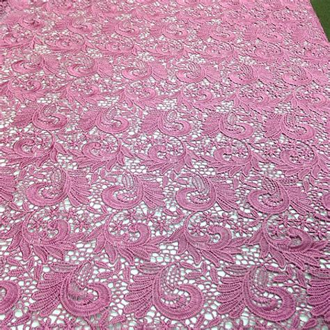 paisley pattern in french lilac paisley guipure french venice lace