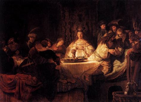 Saul Blind Paintingfeather Rembrandt Harmensz Van Rijn Paintings