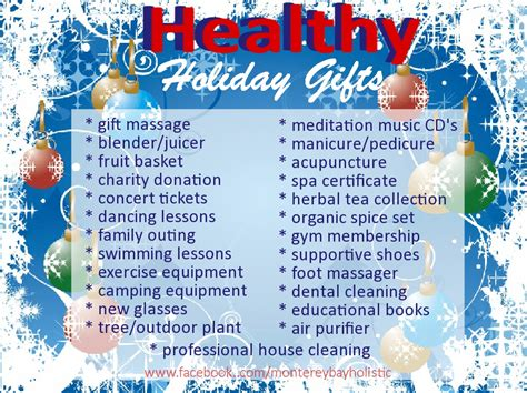 healthy gifts monterey bay holistic alliance
