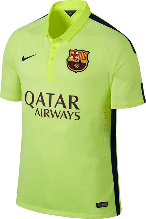 Jersey Kid Barcelona 3rd fc barcelona 14 15 2014 15 home away and third kits footy headlines