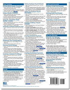 quickbooks tutorial books quickbooks pro 2016 quick reference training card