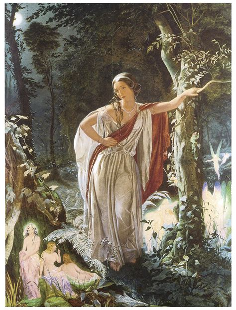 midsummer nights dream a 1906230447 a midsummer night s dream hermia and the fairies print midsummer nights dream and painting