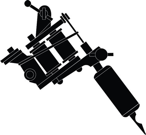 tattoo gun gallery for gt tattoo machine drawing vector logo