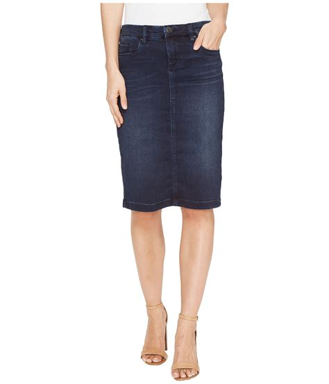 blank nyc denim pencil skirt in swing away at zappos