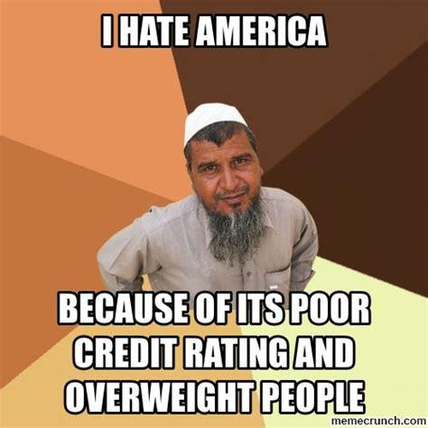 Hate Meme - i hate america