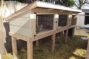 Rabbit Hutch Build Build A Rabbit Hutch And Tractor