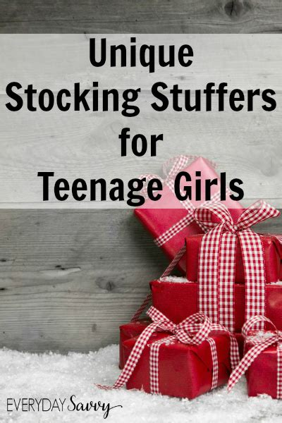 cool stocking stuffers unique stocking stuffers for teenage girls