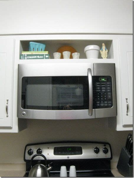 Hang An The Range Microwave Without An Overhead