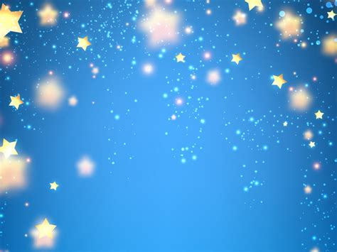 wallpaper blue background stars luminous  abstract