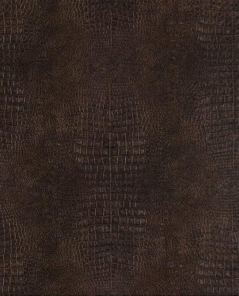 Tapisserie Lutece by Papier Peint Lut 232 Ce Sauvage Crocodile Marron G67500