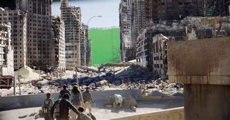 maze runner film location how fx masters destroyed cities for the new maze runner