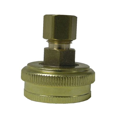 Garden Hose Backflow Preventer Lowes Shop Watts 3 4 In Garden Hose Barbed Fitting At Lowes