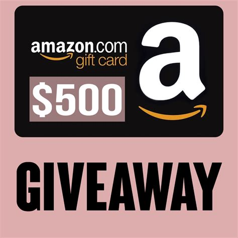 How To Get Giveaways On Amazon - two giveaways 500 amazon giftcard giveaway 19 birchbox