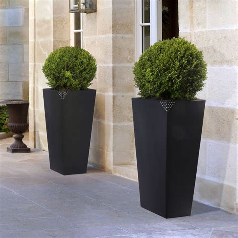 vasi bianchi da esterno vasi resina da esterno vasi da giardino tipi di vasi