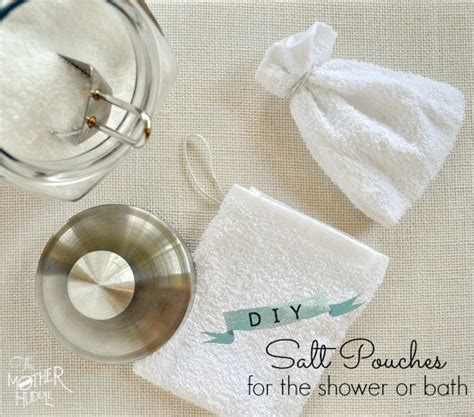 how to use bath salts in the shower diy reusable bath salt pouches for the shower or bath herbs and oils hub