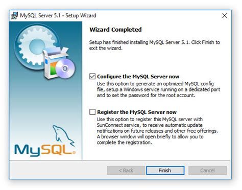 xp configure mysql database diskboss data management solution installing mysql