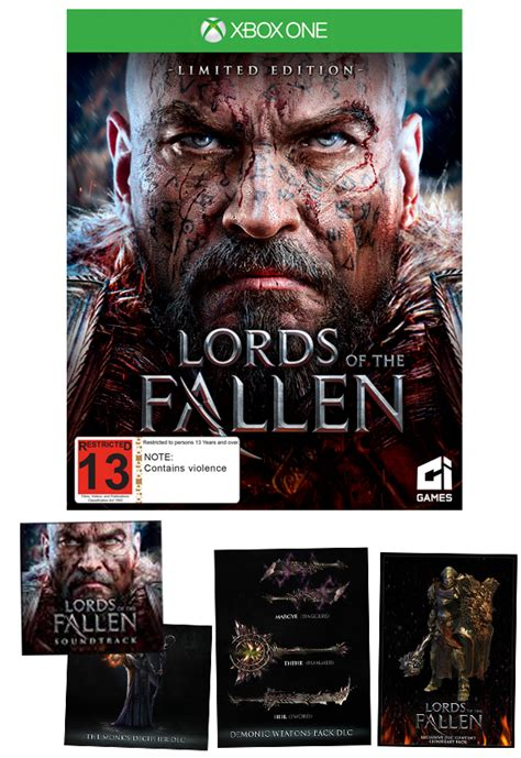 Odm Fallen Limited Edition 1 of the fallen limited edition xbox one in stock buy now at mighty ape nz