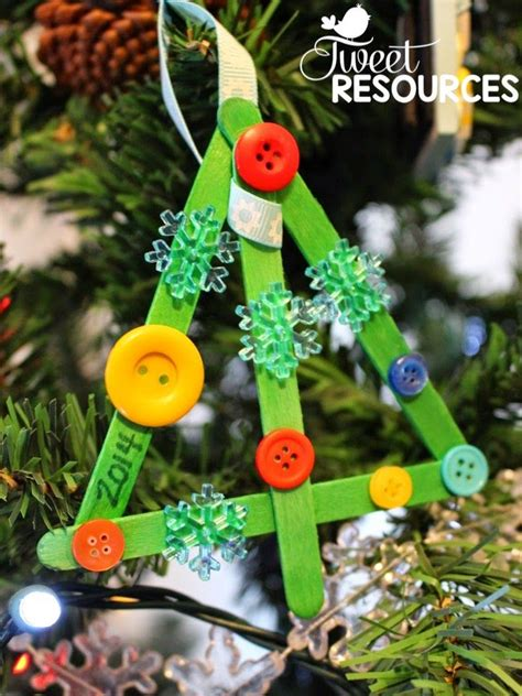 how to make a christmas tree craft directions on tweet