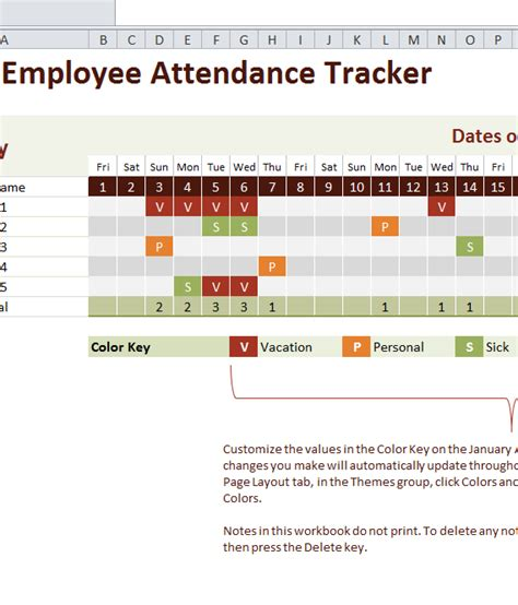 Microsoft Excel Search Tracker Search Results For 2015 Employee Attendance Calendar