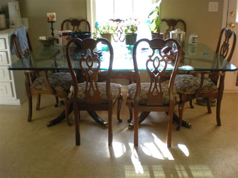 Thomasville Dining Room Table And Chairs Thomasville Furniture 1950 S Dining Room Table And 8