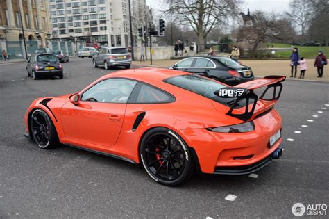 Porsche Gt3 Rs 991 by Porsche 991 Gt3 Rs 18 February 2017 Autogespot
